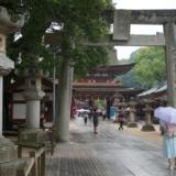 梅が枝餅で有名な太宰府天満宮と九州国立博物館