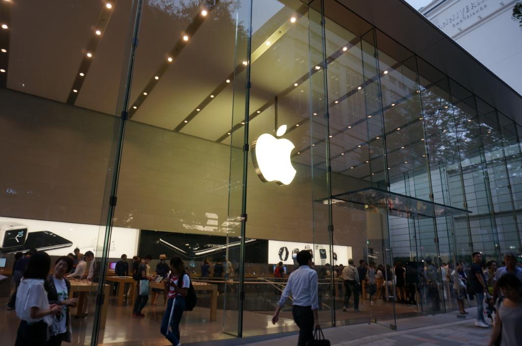 iPhone7をApple表参道で購入して来ました