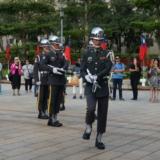 戦没者の眠る慰霊の地 忠烈祠の衛兵交代式