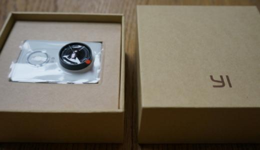 Xiaomiのアクションカメラ「Xiaomi Yi」レビュー