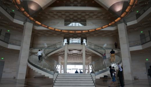 建築家イオ・ミン・ペイの設計した「イスラム芸術美術館」