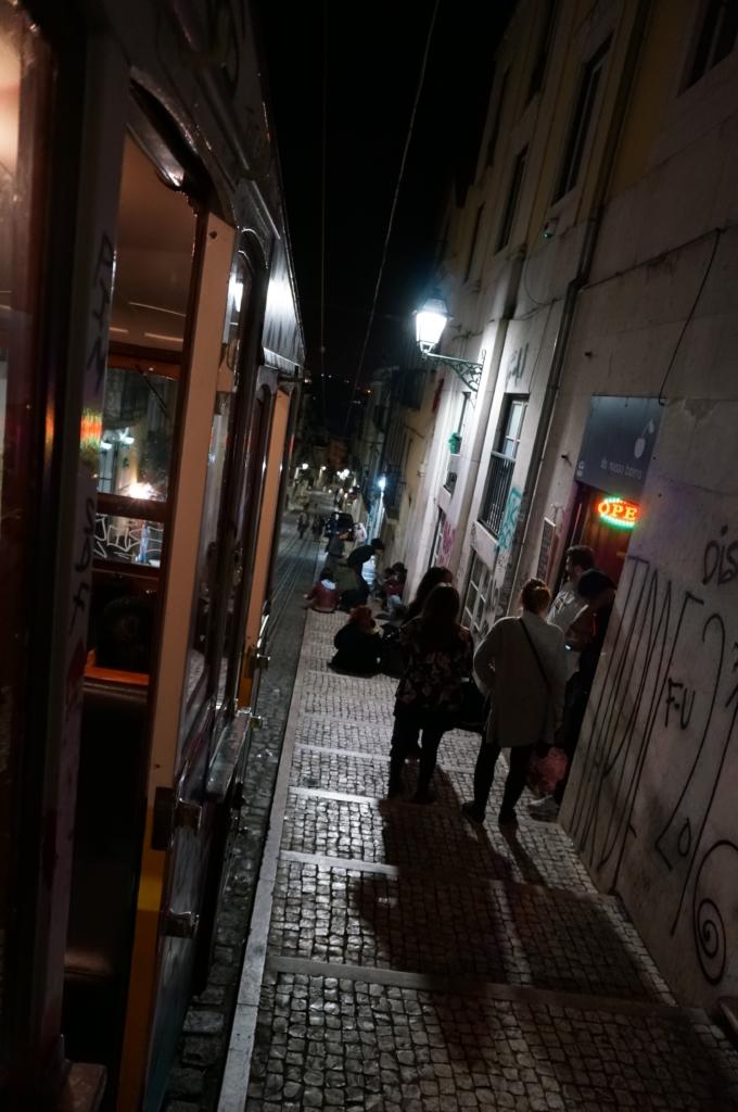 リスボンにある「ビッカのエレベーター」 視界の前は海!