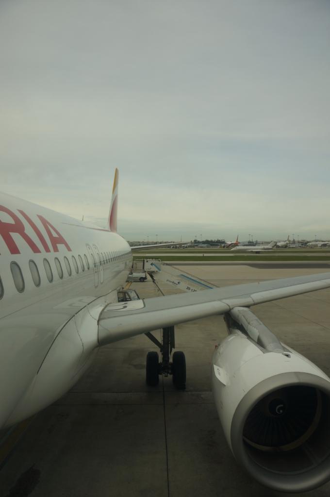 イベリア航空 IBE3111便 リスボン→マドリード(2017年2月)