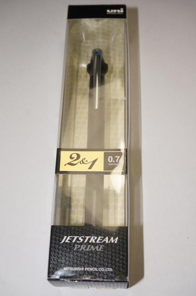 三菱鉛筆「ジェットストリームプライム 2&1」レビュー