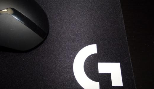 大きくズレない!ロジクールのゲーミングマウスパッド「G240」レビュー