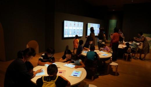 デジタル技術を活用した展示!おもしろびじゅつワンダーランド@サントリー美術館