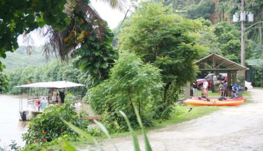 熱帯雨林をカヤックで探索!グアムのオプショナルツアーに参加しました!