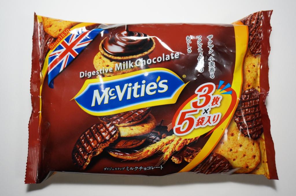 日本では明治が生産!マクビティの「ミルクチョコレートビスケット」