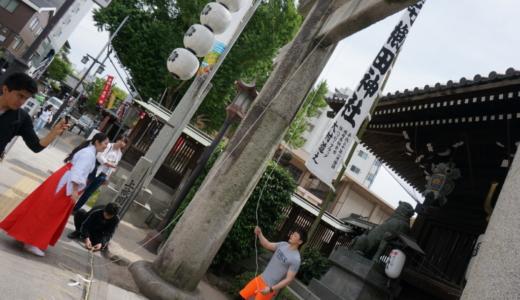 博多祇園山笠の「櫛田神社」と三大住吉のひとつ「住吉神社」でお参り