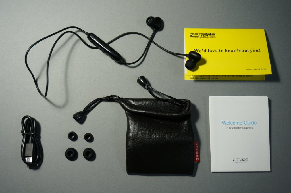 重低音が割としっかり!中華Bluetoothイヤホン「ZENBRE E1」レビュー