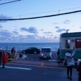 目の前に海が広がる!江ノ電でスラムダンクの聖地「鎌倉高校前踏切」へ行く