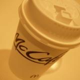 ハンバーガー屋のカフェメニュー!マクドナルドの100円コーヒーを飲んでみる