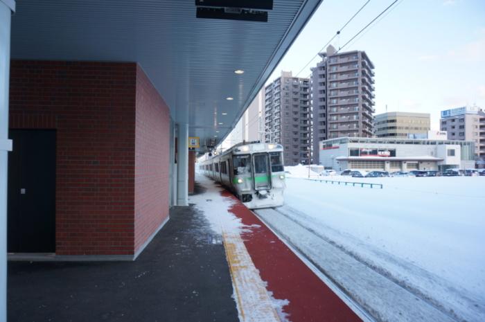 苗穂駅ホーム