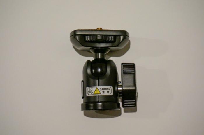 Velbonの高精度自由雲台(QHD-33)