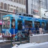 雪ミク電車2019