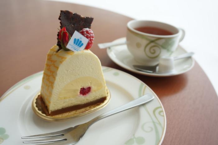 シャトレーゼ アトリウムラウンジのケーキセット