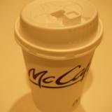 マクドナルドのプレミアムローストコーヒー