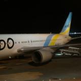 羽田空港に駐機するJA98AD