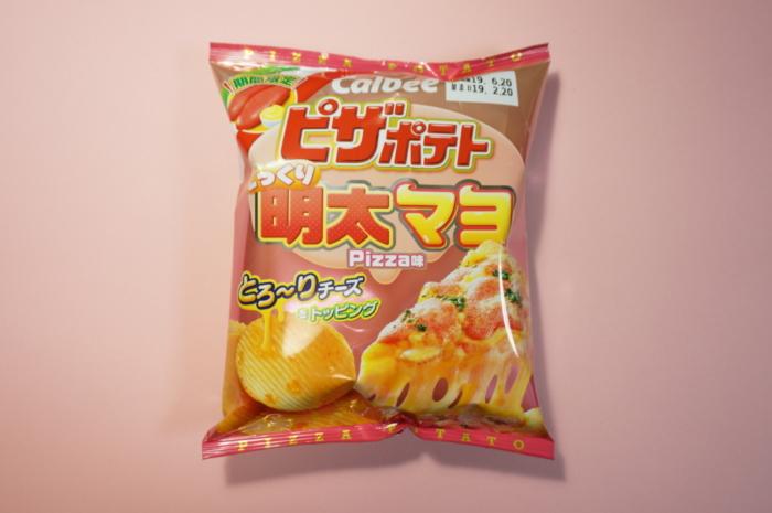 カルビー ピザポテト 明太マヨ味