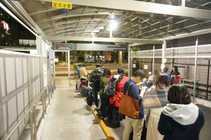 京成バスの東京シャトル