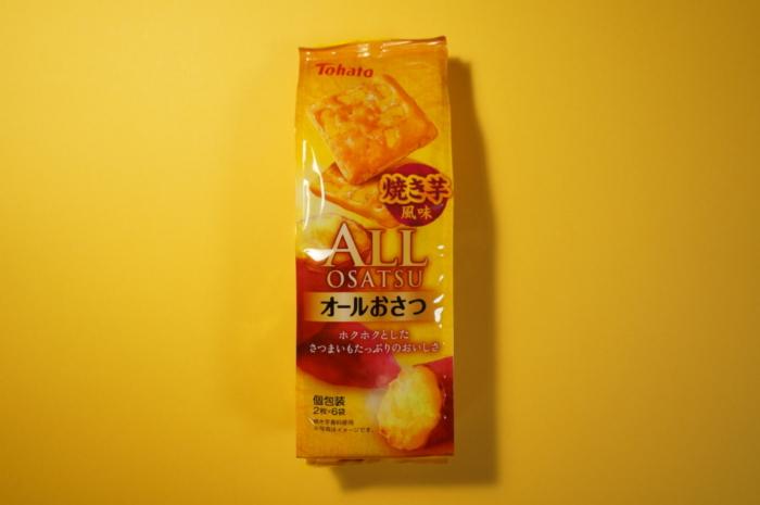 東ハト オールおさつ 焼き芋風味