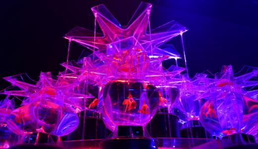 迫力のある巨大金魚鉢!アートアクアリウム 2019は光と金魚の展示会