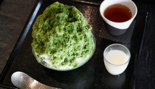老舗海苔店の展開するお茶専門店!寿月堂 銀座歌舞伎座店で抹茶スイーツを食べる