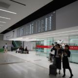 羽田空港国内線到着ロビー