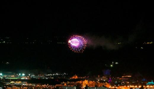 直線距離で約10km!東京スカイツリーからディズニーリゾートの花火を鑑賞する