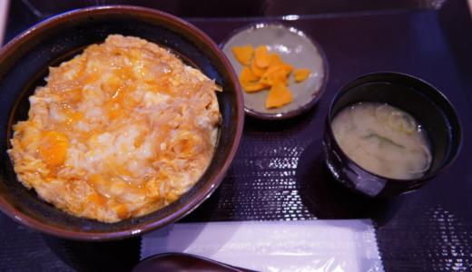 靖国神社内の食事どころ靖國八千代食堂で「知覧の玉子丼」を食べる