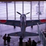 遊就館の零式艦上戦闘機五二型