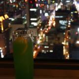 札幌JRタワー展望室T38で夜景を見ながらオリジナルカクテルを飲む