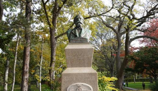 札幌駅から徒歩10分!北海道大学の構内にある元祖クラーク胸像を見る