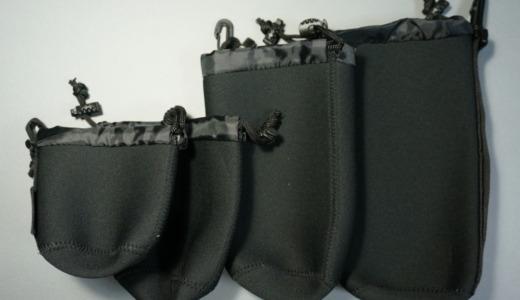 低価格なクッション袋!Amazonベーシック「カメラレンズアクセサリーケース」レビュー