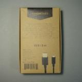 お買い得なアマゾンのPB商品!Amazonベーシック「USBケーブル 3.0m A to MicroB」レビュー