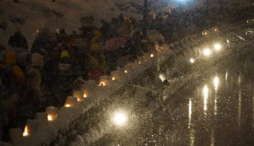 マイナス気温の中で合唱を聴く!小樽雪あかりの路22でキャンドルが煌めく小樽運河へ
