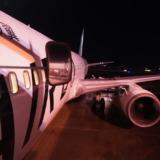 B767の非常口座席は足元広い!AIRDO038便で新千歳から東京・羽田へ(2020年2月)