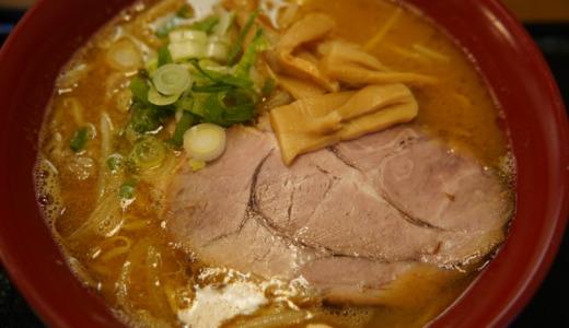 埠頭の旅客ターミナル内!初代 横浜ハンマーヘッド店で味噌ラーメンを食べる