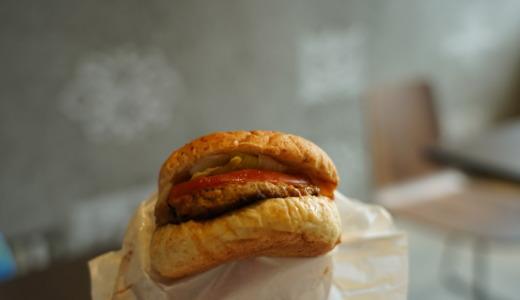 新鮮な野菜と名産の白老牛使用!JOE'Z kitchenの「白老牛バーガー」を食べる