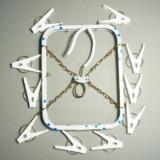 布マスク洗濯に便利なスチール製物干し!ニシダ「ミニ角ハンガー(N67722)」レビュー