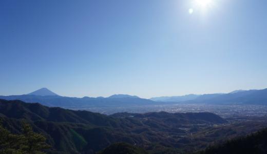 ロープウェイ降りたら尾根移動!富士山が見えるパノラマ台と弥三郎岳まで往復約30分の羅漢寺山ショートトレッキング