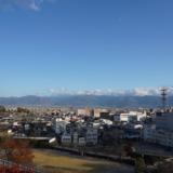 駅前にある史跡!徳川家康によって築城された街のシンボル「甲府城」へ